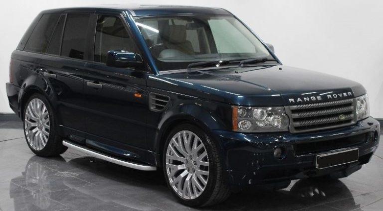 Used Land Rover Range Rover Sport Autobiography HSE 2720cc Diesel 2010 Model RHD