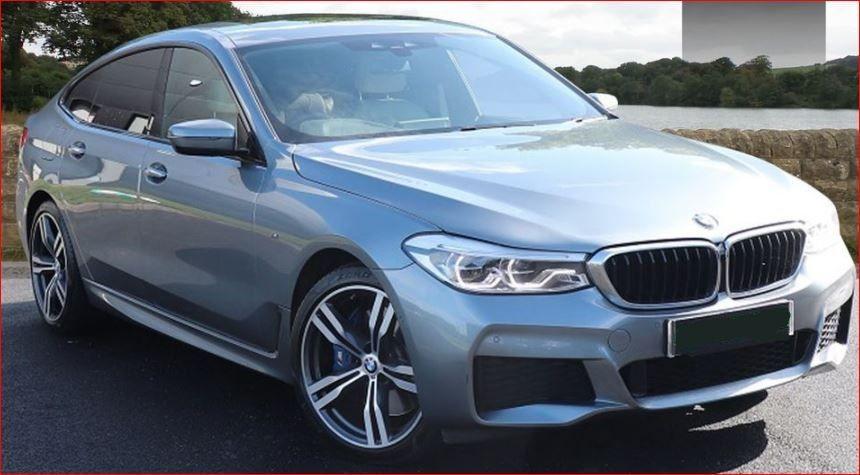 Used RHD BMW 6 Series 2.0L Petrol 630I M SPORT 5dr Hatchback Gran Turismo 2018 Model