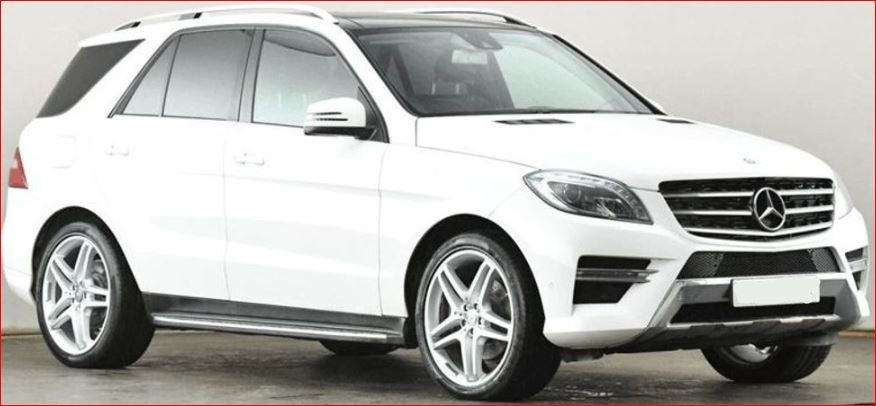 Used RHD Mercedes Benz ML 250 CDi BlueTec 2.1L Diesel 2015 Model