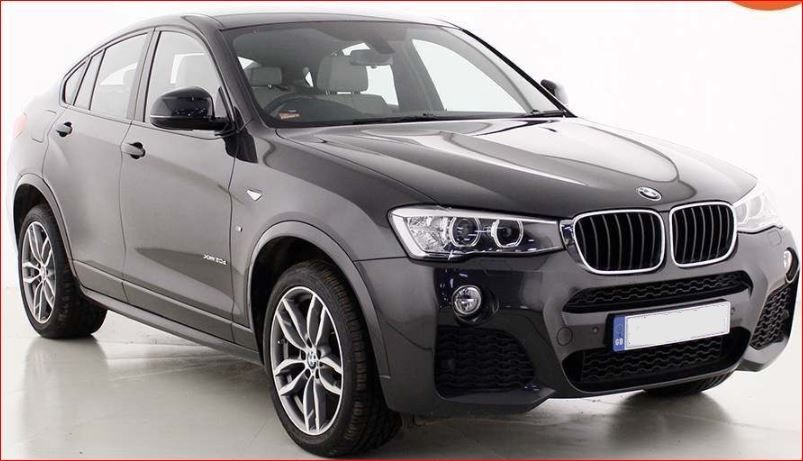 Used RHD BMW X4 2.0L Diesel 20d M Sport Auto xDrive 2016 Model