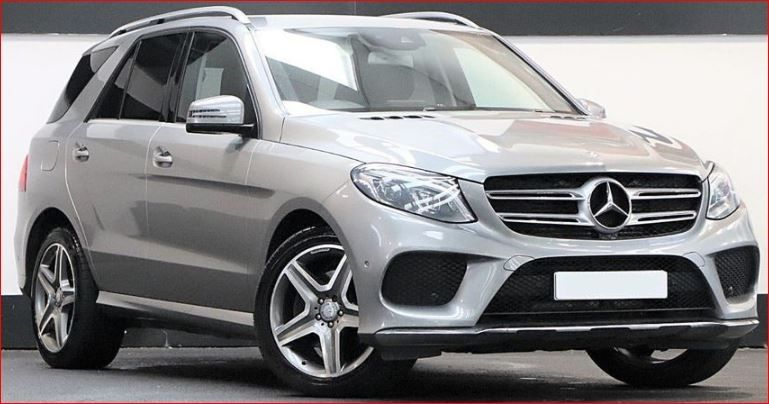 Used RHD Mercedes Benz GLE 250 d 4Matic AMG Line 2.1L Diesel 2016 Model