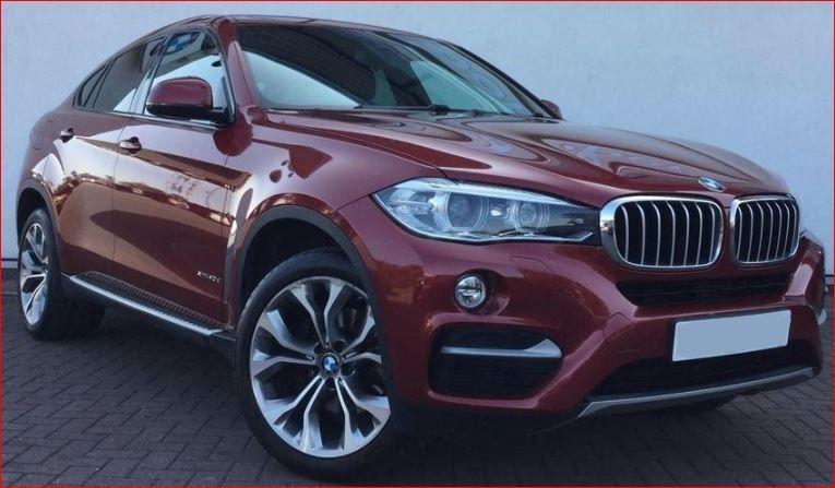 Used BMW X6 3.0L Diesel 2016 Model RHD