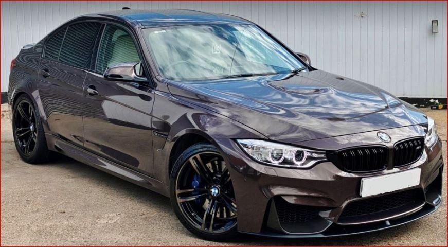 Used RHD BMW M3 3.0L Petrol 2016 Model UV5322