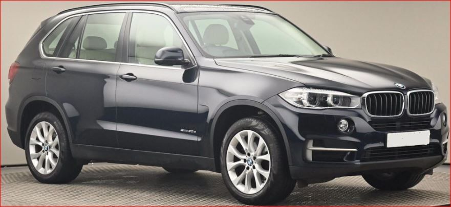 Used BMW X5 3.0L Diesel 2017 Model RHD 48630 miles