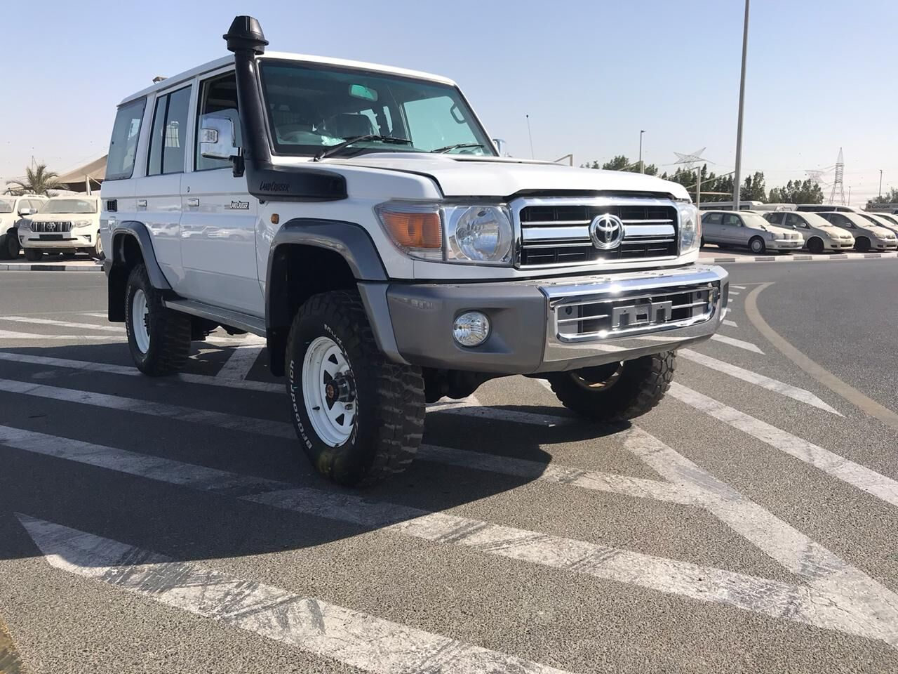 Used RHD Toyota Land Cruiser Hardtop LC76 4.5L Diesel 2012 Model